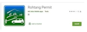 Rohtang Pass Permit Booking Mobile App